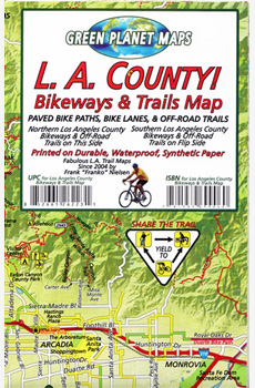 L.A. County Bikeways & Trails Map