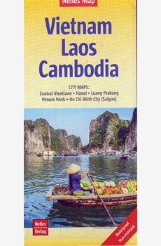 Map- Vietnam Laos Cambodia