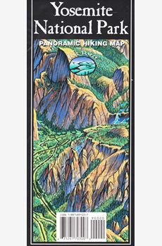 Yosemite National Park Panoramic Map