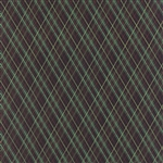 30438-15 Juniper Berry Black Plaid