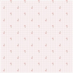 6092-N Nutmeg Tossed Daisy Grid