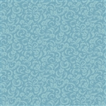 8006-B Blue Tonal Floral Scroll