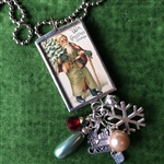 Santa Charm Necklace