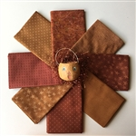 Rusty Pumpkins Fat Quarters