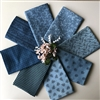 Union Blues Fat Quarters