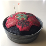 Ball Jar Lid Hexagon Pincushion