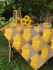 Dresden Sunflowers Quilt Kit
