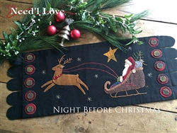 Night Before Christmas Wool Appliqué Kit