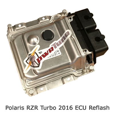 pwrTune ECU Tuning Reflash RZR Turbo
