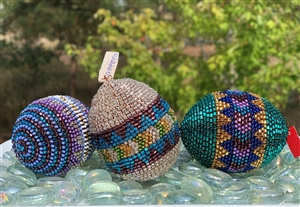 Beaded Egg - Large