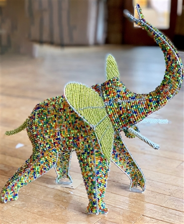 Large Beaded Elephant