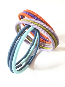 Spiral Color Block Bracelet - Small