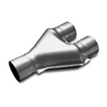 "Magnaflow Y-pipe Dual 2.5"" In/Single 2.5"" Out"