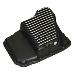 PML Black Powdercoat Transmission Pan 45RFE/545RFE/68RE w/ Step Relief