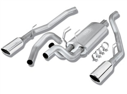 "Borla Catback Exhaust 09-up Ram 1500 Dual Rear Exit w/ 5"" Tips"