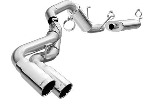 Magnaflow 4 Dual Side Rear Exit Catback Exhaust With 5 Tips 20142016 Ram 2500: 2016 Ram 2500 Exhaust Upgrade At Woreks.co