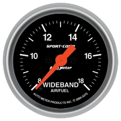 Auto Meter Sport Comp Analog Wideband Air/Fuel Ratio Gauge