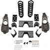 McGaughy's Deluxe 4/6 Drop Kit 06-08 Ram 1500 2WD Quad Cab