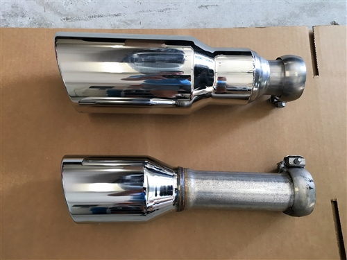 Ram 1500 Exhaust >> Moe S Performance 5 Stainless Steel Rolled Edge Exhaust Tips 2009