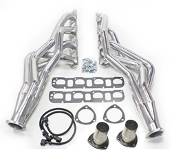 "JBA 1 7/8"" Stainless Longtube Headers 2009-2017 Dodge Ram 5.7 1500 2WD/4WD - Silver Ceramic Coated"