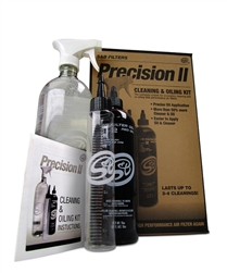 S&B Precision II Cleaning & Oil Kit (Red)