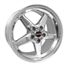 Racestar 92 Drag Star Polished 17x10.5 Rear Wheel 5x5.5
