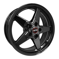 Racestar 92 Dark Star 17x7 Front Wheels 5x5.5
