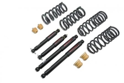 Belltech 2/4 Drop Kit With Nitro Drop Shocks 2009-2018 Ram 1500 2WD Quad/Crew Cab
