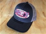 Moe's Performance Black/Grey Mesh Adjustable Cap