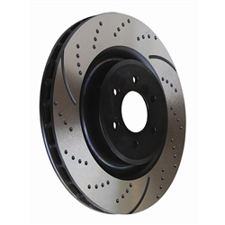 EBC 02-up Dodge Ram 1500 Rear Slotted and Drilled Rotors