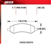 Hawk HPS 06-up Dodge Ram 1500 Front Brake Pads