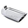 "MBRP 5"" Polished Double Wall Exhaust Tip - 12"" Long w/ 4"" Inlet"