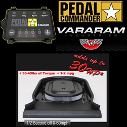 Vararam Air Grabber Intake and Pedal Commander w/ Bluetooth for 2009-2018 Dodge Ram 5.7L Hemi