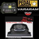 Vararam Air Grabber Intake and Pedal Commander w/ Bluetooth for 2019 Ram 5.7L Hemi