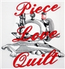 Piece Love Quilt - Sewing Machine