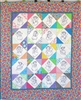 On Point with Charms - Fairy or Angel Dolls - Baby Quilt Kit