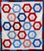Country Ragdoll Quilt - Hexagon - Baby Quilt Kit