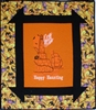 Churn Dash Picture Frame - Happy Haunting -Halloween Lighthouse - Wall Quilt Kit