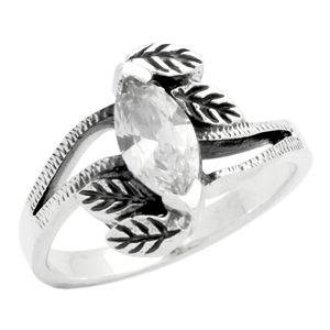 BBR004-CL Silver Kids / Baby Ring