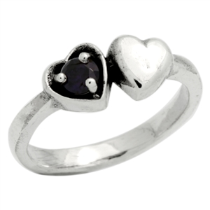 BBR006-AM Silver Kids / Baby Ring