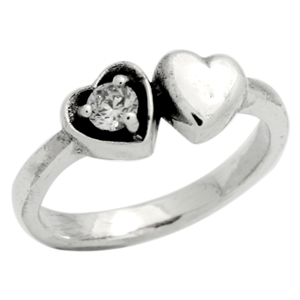 BBR006-CL Silver Kids / Baby Ring