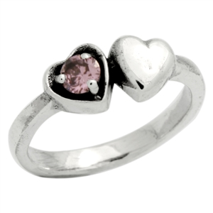 BBR006-PI Silver Kids / Baby Ring