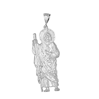 DCP1014 Silver Regular DC San Judas Pendant 75mm