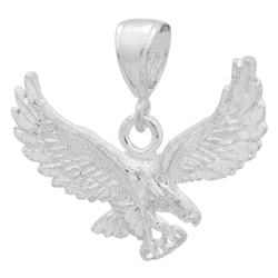 DCP1083 Silver DC Eagle Pendant 35mm