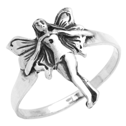 RPS1152 - Sterling Silver Flower Ring