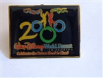 Disney Trading Pin 1: Celebrate The Future Hand in Hand - 2000 Dancers (Rectangle)