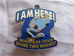 Disney Trading Pin 101186: Genie- I am here! What are your other Two Wishes?
