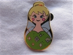 Disney Trading Pin 101917: Nesting Dolls Mini Pin Pack - Tinkerbell Only