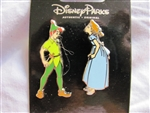 Disney Trading Pin 102232: Peter Pan and Wendy