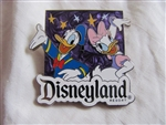 Disney Trading Pin 102337 Disneyland - AAA Travel - Pin only - 2014 Donald and Daisy